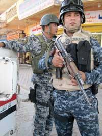 Policier irakien