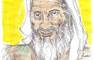 Portrait de Ben Laden