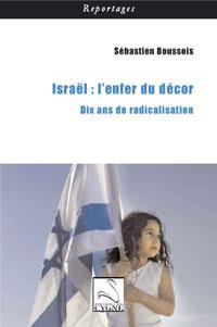 Couverture du livre Israël, l'enfer du décor