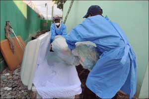 Victime du choléra
