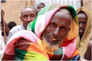 A pastoralist in Bisle kebele