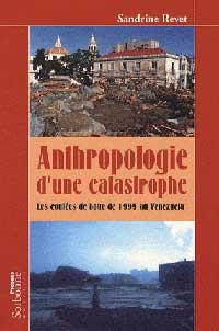 Couverture du livre anthropologie d'une catastrophe