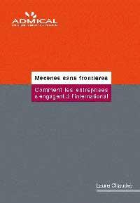 Couverture du livre Mécènes Sanas Frontières