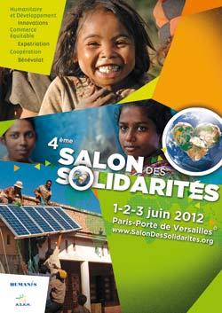 Affiche salon de solidarités