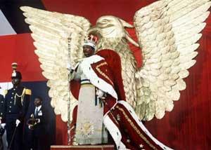 sacre de l'empereur Bokassa