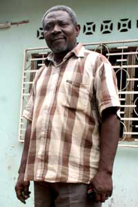 Maka Gbossokoto, directeur de publication du journal le Citoyen