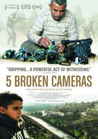 Affiche Five Broken Cameras