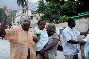 Catastrophes humanitaires : Les personnes âgées, un groupe particulièrement vulnérable Haïti