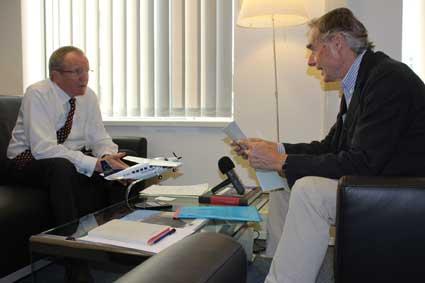Alain Boinet s'entretient avec Claus Sorensen