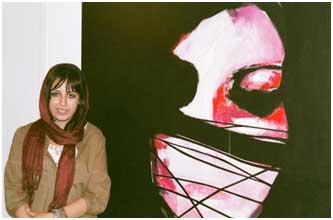 Bahareh Navabi, Galerie Mah, Téhéran, 2007