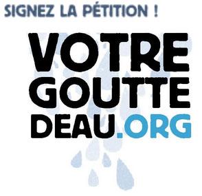 Campagne Solidarités International, Votre Goutte d'eau