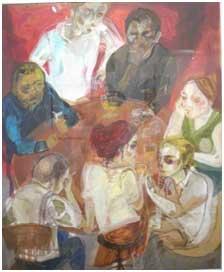 Golnar Tabibzadeh, Galerie Mehrva, Téhéran, 2008.