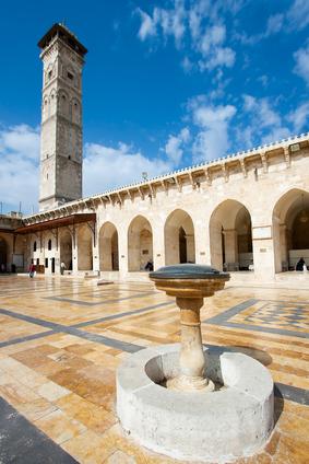 Omeyyades, Grande Mosquée d'Alep