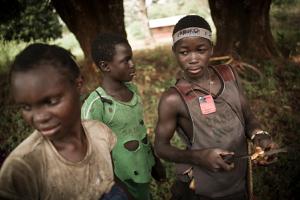 Enfants à Bossangoa (RCA)