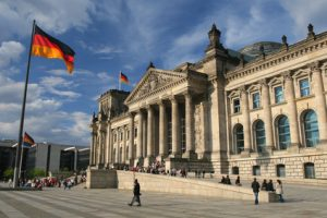 Le Reichstag, à Berlin