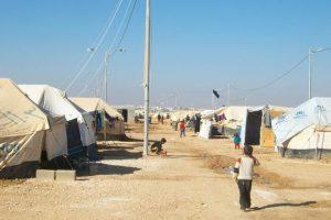 Syrian refugees in-zaatari camp  ©Enass Abu KhalafTuffaha/MSF