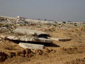 Destructions à Gaza