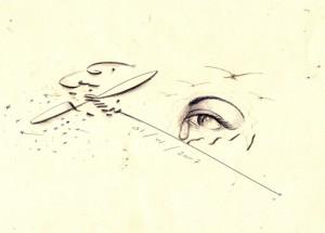 Illustration  de Sidina, artiste sahraoui, salarié local d'une ONG Des campements de Tindouf