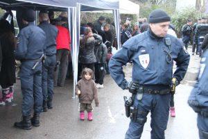 Expulsion de Roms dans la banlieue grenobloise.