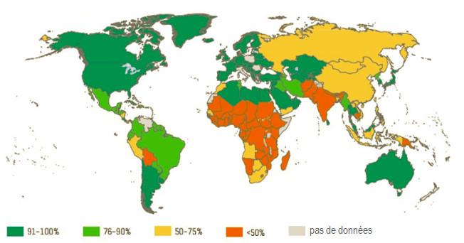 Les toilettes dans le monde