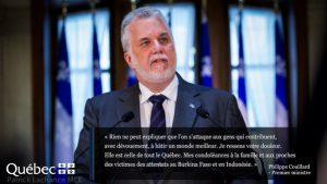 Philippe couillard premier ministre quebecquois