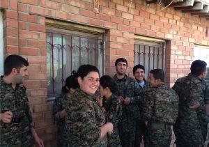 Combattantes du Rojava
