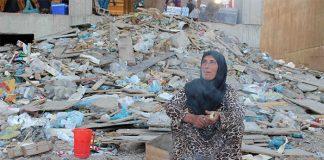 Camp de déplacés à Erbil