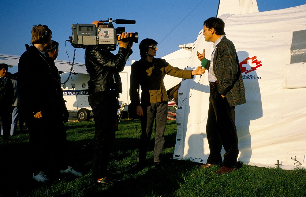 Rony Brauman, un avion pour la vie