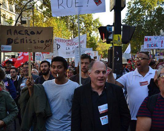 manifestation contre la reforme du code du travail