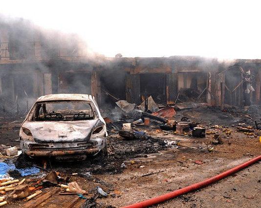 Bombardements Boko Haram